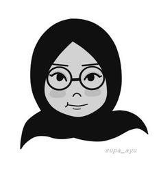 Potrait by ayusufaah Islamic Cartoon, Anime Muslim, Hijab Cartoon, Character Illustration, Motion Graphics, Zine, Shirt Blouses, Mud, Emoji