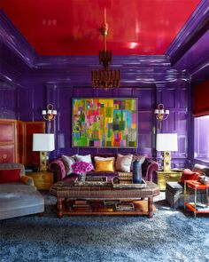 Steven Gambrel Manhattan Home - Manhattan Apartment Design. See more design inspiration at www.homepolish.com!