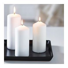 "IKEA - IDEAL, Candle dish, 6x6 "", , Soft feet stabilizes the candle holder and protects the underlying surface."