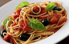 Recetas Vegetarianas: Receta de espaguetis vegetarianos
