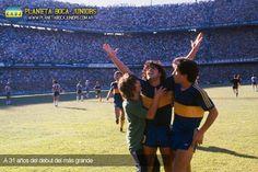 Gol de Boca - Maradona 1981 debut