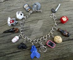 Revamped I Believe in Sherlock Charm Bracelet by geeekalicious on DeviantArt >> I NEED THIS BECAUSE OF REASONS