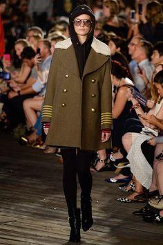 Tommy Hilfiger Fall 2016 Ready-to-Wear Fashion Show - Tilda Lindstam