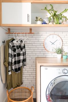 14 Basement Laundry Room ideas for Small Space (Makeovers) 2018 Laundry room organization Small laundry room ideas Laundry room signs Laundry room makeover Farmhouse laundry room Diy laundry room ideas Window Front Loaders Water Heater Laundry Room Shelves, Laundry Room Organization, Laundry Storage, Laundry Room Design, Laundry In Bathroom, Laundry Rooms, Basement Storage, Home Upgrades, Hanging Clothes Racks