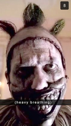 Twisty the Clown - American Horror Story | If Horror Movie Villains Were Chillin' On Snapchat