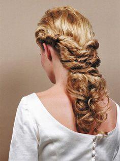 Peinados semi recogidos - Distinción Peluqueros. Salón de peluquería y estética en La Laguna