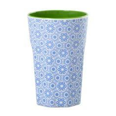 rice Becher Melamine Two Tone Latte Cup Marrakesh Print MAX Temp. 90C (Blue & White innen Apple Green) von Rice, http://www.amazon.de/dp/B008DYIUF2/ref=cm_sw_r_pi_dp_pyc3sb15T9FT0
