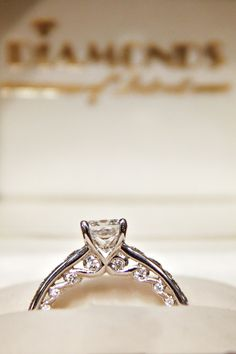 Tides of Love Canadian Maple Leaf diamond ring