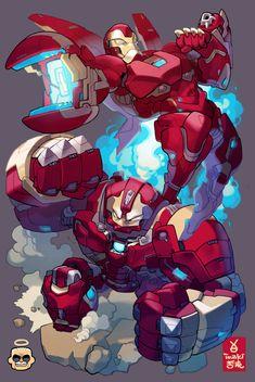 Artwork from the Marvel universe. Hulk Marvel, Chibi Marvel, Marvel Fan Art, Marvel Comics Art, Marvel Heroes, Marvel Comic Character, Marvel Characters, Character Art, Iron Man Avengers
