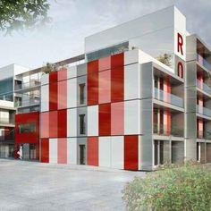 Conception réalisation d'une résidence universitaire de 100 logements étudiants à Toulouse.