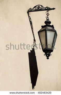 Image result for antique lantern lamp