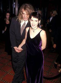 12 Archival Photos of Winona Ryder '90s Style Prove She Ruled the Era #news #fashion #world #awesome