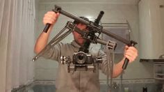 This camera stabilizer seems to defy the laws of physics