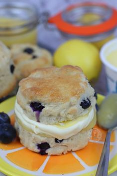 Delicious Fresh Lemon and Blueberry Scones with Clotted Cream and Lemon Curd. I am a massive fan of Afternoon Tea, and Afternoon Tea just wouldn't...