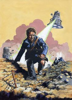 DOCTOR WHO  The Eighth Doctor  Dalek War  A4 by SpiritedPortraits, £11.00