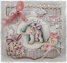 Card by LLC DT Member Becky Hetheringtn, using papers from Maja Design's Vintage Frost Basics collection.
