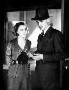 "Ann Casson and John Stuart in the 1932 Hitchcock movie ""Number Seventeen"" - cameo @ 0:51:25 on the bus amongst other passengers, in a dark coat and hat, facing away, he bounces up and down"