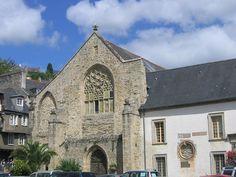 Ancienne abbaye des Jacobins situé Périodes de construction :13e siècle ; 14e siècle ; 15e siècle à Morlaix