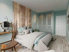 Фото дизайн интерьера спальни из проекта «Интерьер квартиры в скандинавском стиле с элементами лофта, ЖК «Skandi Klabb» »