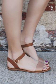 Laid Back Sandals - Natural