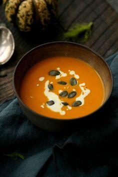 Kuerbis-Fenchel-Moehren-Suppe