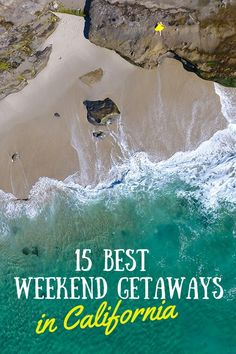 15 Best Weekend Getaways in California (And Where to Stay!) 15 Best Weekend Getaways in California Cheap Weekend Getaways, Weekend Getaways For Couples, Best Weekend Getaways, Weekend Vacations, Best Vacations, Vacation Spots, Honeymoon Spots, Greece Vacation, Weekend Packing