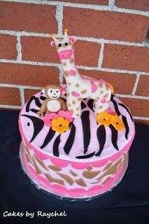 My Creative Way: Jungle Jill Baby Shower Cake. {Sweet Friday}