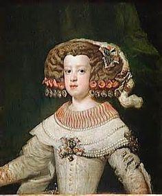 Marie-Thérèse d'Autriche, fut l'épouse de Louis XIV, infante d'Espagne, reine de France et brièvement régente en 1672 lorsque Louis XIV était en guerre contre la Hollande.
