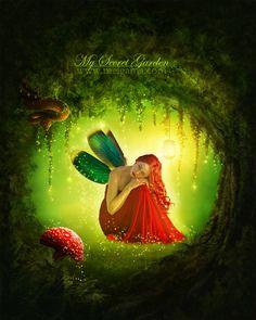My Secret Garden by MelGama.deviantart.com on @deviantART