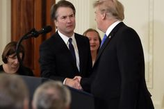 President Trump will nominate Brett Kavanaugh to replace retiring Justice Anthony Kennedy on the Supreme Court. If confirmed, Trump's second high court pick would shift the court solidly to the right. Court Judge, Rachel Maddow, Supreme Court, News Articles, Good News, Donald Trump, Presidents, People, Federal