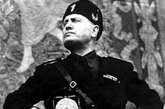 This is a picture of the Fascist Leader of Italy, Benito Mussolini. Mussolini inspired Hitler to do the horrible things he did, therefore, if Mussolini did not exist, Hitler may not have carried out the Holocaust. This is a credible source because it is a picture taken during Mussolini's time of power. Due to the fact that Hitler used Mussolini as an example, Canadians were obliged to change their lifestyle into that of wartime to help the war effort.