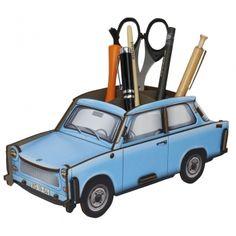 "Werkhaus Shop - Trabant 601 ""Kristallblau"" - Stiftebox"