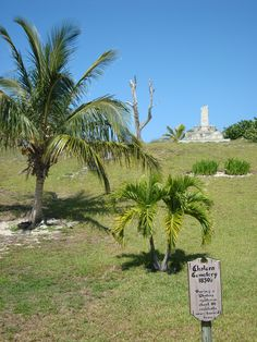 Cholera site.  Elbow Cay, Bahamas