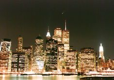 Go to the city that never sleeps! New York City. (: