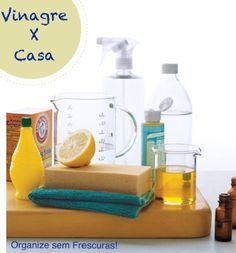 As 1001 utilidades do vinagre branco na casa