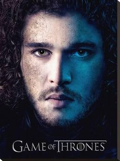 Stretched Canvas Print: Game Of Thrones (Season 3 - Jon) : 31x24in