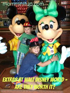 "Some of the ""extra"" experiences Walt Disney World has to offer ... are they worth the splurge?"