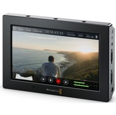 """Blackmagic Design Video Assist 4K - 7"""" high resolution monitor with Ultra HD recorder"""