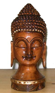 Hand Carved Budha 9 Statue in Meditation Position