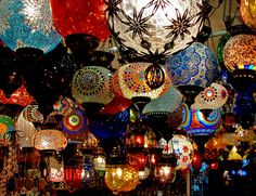 my vacation in Turkey.. and seeing these lamps everywhere