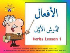 Arabic Verbs - Arabic Roots - learn verbs - Lesson 1 - arabicwithnadia.com - YouTube