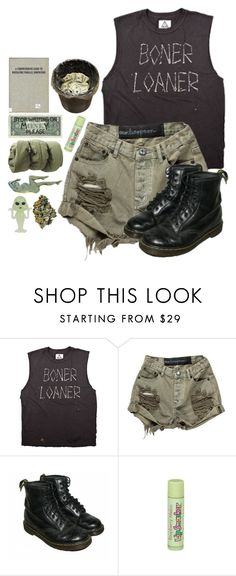 """""""die slow"""" by aaliviaa ❤ liked on Polyvore featuring Dr. Martens, KEEP ME and Miu Miu"""