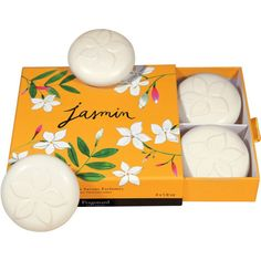 Limited Edition Jasmin Set of 4 Guest Soaps