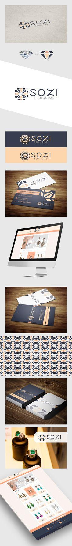 Criação do logo e identidade visual, cartão de visitas, tag para produtos e loja virtual