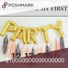 I'm Co-Hosting My First Posh Party✨💕✨ I'm so excited to be hosting my First Posh Party!!! I've been dreaming of this day for a long time and it's finally HERE! Please like this post if you have a posh complaint closet and would like to be considered for a Host Pick. Tag your PFF's and please help spread the word 😊💕 3 Days and Counting 🎉🎉🎉 Other
