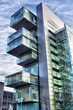 Manchester Civil Justice Centre - England, United Kingdom