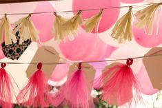Backyard Wedding Ideas / Tassels and Balloons / Reality and Retrospect