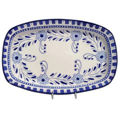 I pinned this Azoura Rectangular Platter from the Le Souk Ceramique event at Joss & Main!  Goes with tea pot.  So cute.