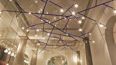 Restaurant Luzette, Stockholm Lamp designed by Jonas Bohlin. 2014