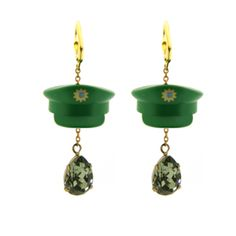 #missbibi #earrings #bouclesdoreilles #green #vert #playmobil #playtime #play #game #jeux #jewelry #jewellery #fun #cute